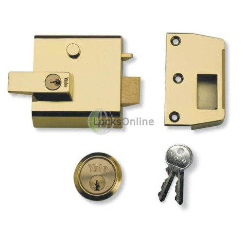 Main photo of Yale No 1 Auto Deadlocking Night Latch