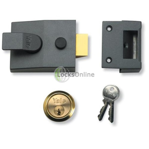Main photo of Yale 84 Series Narrow Style Standard Nightlatch
