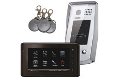 LocksOnline 2Easy Single Door Video Entry System with Exterior Proximity Reader