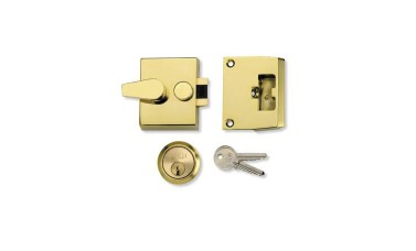 Union 1037 Auto Dead Locking Night Latch