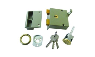 Union 1334 Standard Stile Drawback Lock (50mm Backset)