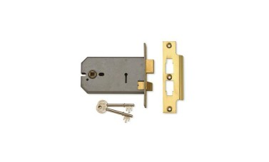 Union 2077 3 Lever 127mm Horizontal Mortice Lock