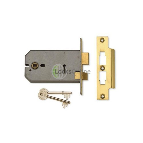 Main photo of Union 2077 3 Lever 127mm Horizontal Mortice Lock