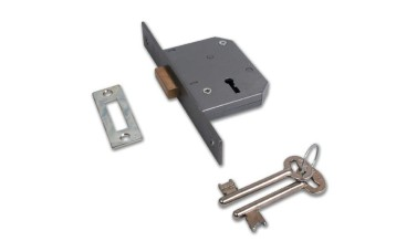 Union 2188 - 3 Lever Dead Lock (Double Throw)