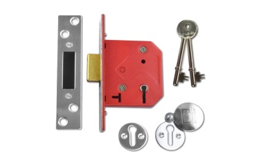 UNION C-Series 2101 Fire-Rated 5 Lever Deadlock