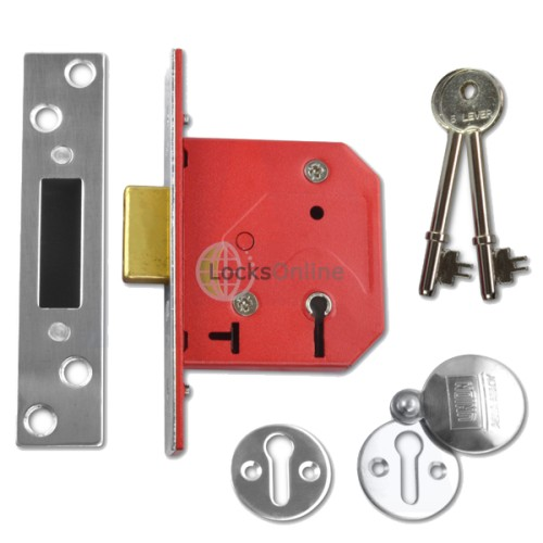 Main photo of UNION C-Series 2101 Fire-Rated 5 Lever Deadlock