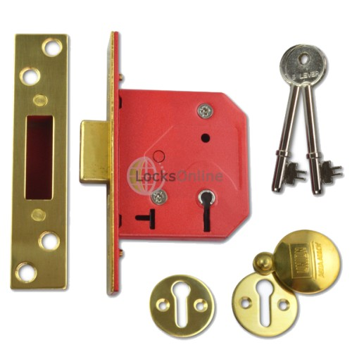 Main photo of UNION C-Series 2101 Fire-Rated 5 Lever Deadlock - Keyed Alike