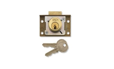 Union 4138 Cut cupboard/Till Springbolt Lock