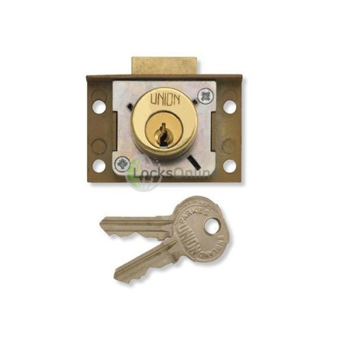 Main photo of Union 4138 Cut cupboard/Till Springbolt Lock
