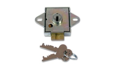 Union 4348 7 Lever Deadbolt Locked Lock