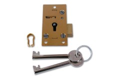Union 4146 4 Lever Straight Cupboard Lock