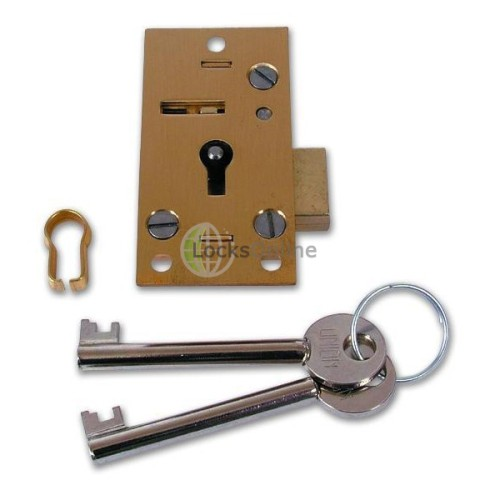 Main photo of Union 4146 4 Lever Straight Cupboard Lock