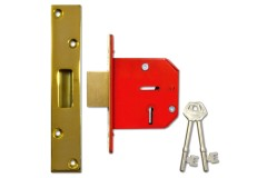 Worral 5-Lever Deadlock with 22mm Double Bolt-Throw