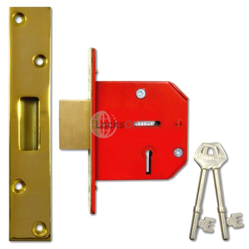 Main photo of Worral 5-Lever Deadlock with 22mm Double Bolt-Throw