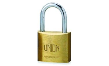 Union 3122 Brass Body Padlock