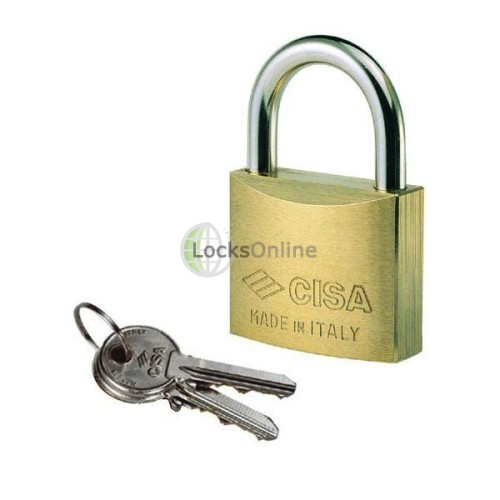 Main photo of Cisa 22010 Brass Body Padlock