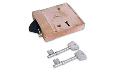 Willenhall G5 Collapsible Clutchbolt Mortice Gate Lock