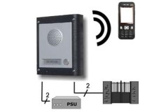 Two Button Videx GSM Mobile phone Audio Intercom