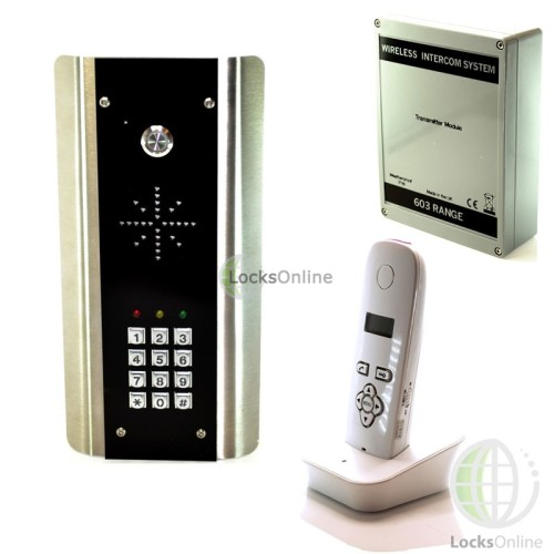 Buy entree wireless front door intercom system front for Front door video intercom