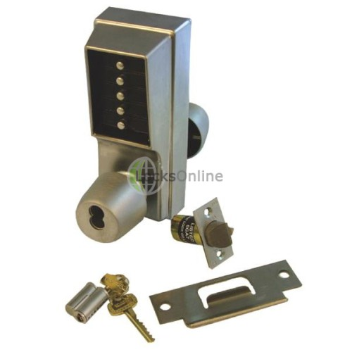 Main photo of Simplex Unican 1021B Digital Lock Knob Operated With Key Override