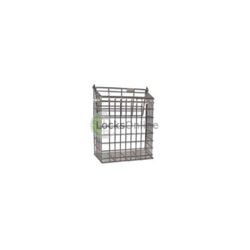 Main photo of Harvey Medium Letter Cage Brass