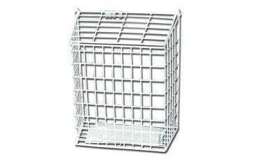 Harvey Small Letter Cage White