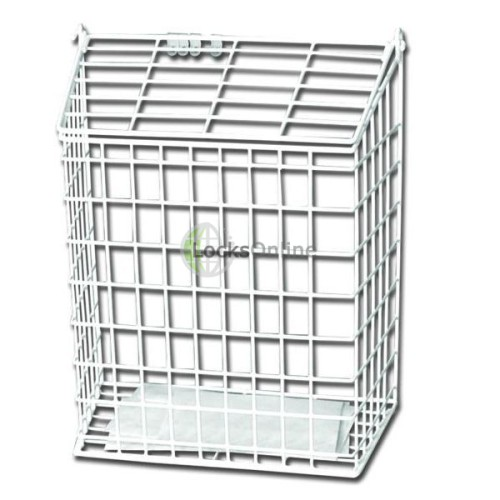Main photo of Harvey Small Letter Cage White