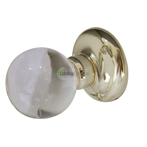 Main photo of Jedo Acrylic Plain Ball Mortice Knob