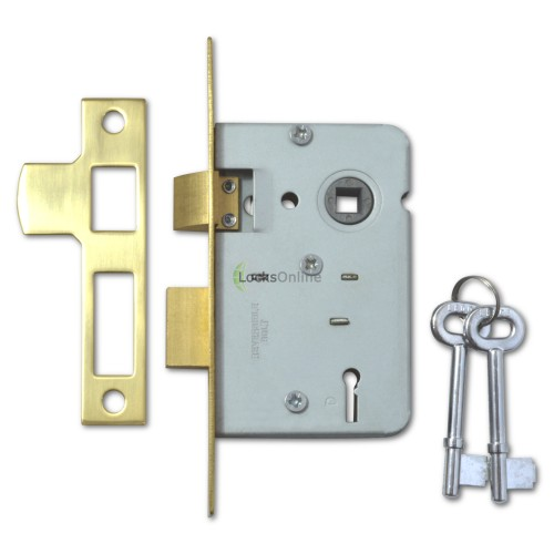 Main photo of Legge Standard 2-Lever Sashlock for Internal Doors