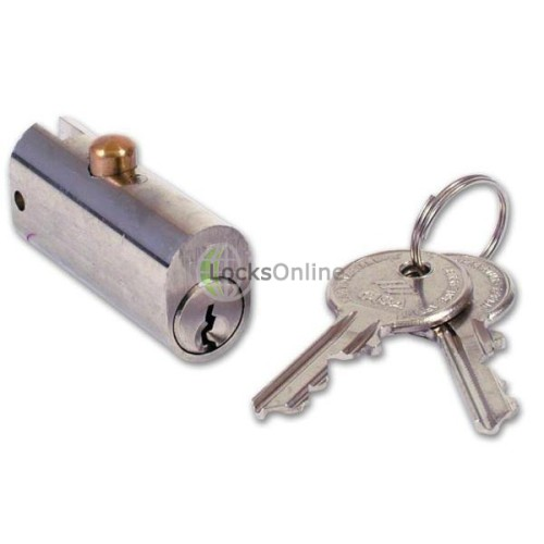 Main photo of Cisa 72010 Oval fitting Filing Cabinet Lock