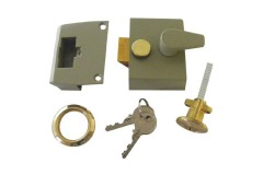 Union 1047 Narrow Stile Cylinder Night Latch