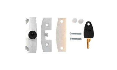 ERA 802 Automatic Locking Wooden Window Lock Cut Key