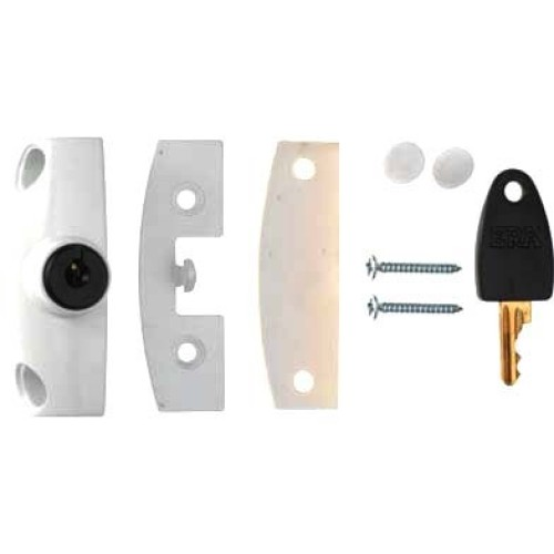 Main photo of ERA 802 Automatic Locking Wooden Window Lock Cut Key