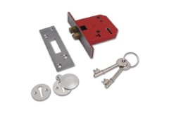 Union 2401 5 Lever Clawbolt Sliding Door Lock