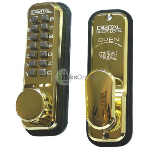 Main photo of Lockey 2435 Mechanical Push Button Lock