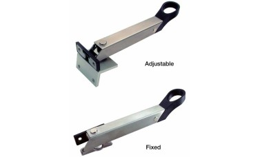 Axaflex window restrictor stay stainless steel finish