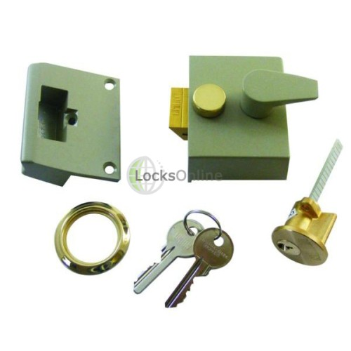 Main photo of Union 1027 Narrow Stile Cylinder Rim Night Latch