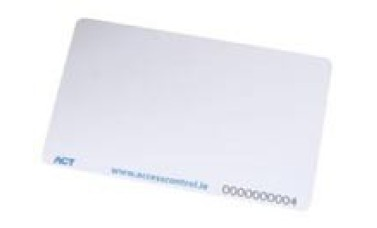 ACT Access Control  ISO-B ISO Prox Card