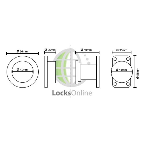 Buy Timage Marine Magnetic Door Holder Locks Online