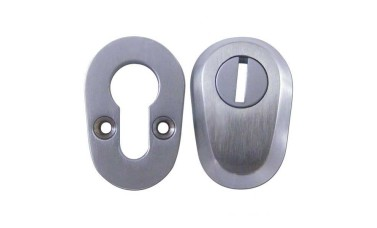 ASEC High Security Bolt Through Euro Escutcheon Set - (20 mm Centers)