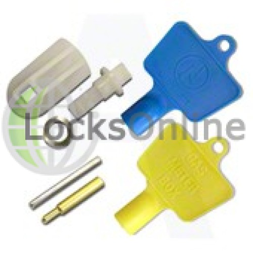 Main photo of Electric & Gas Meter Box Lock Repair Kit