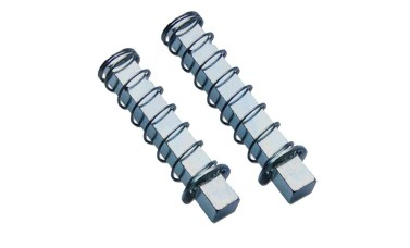 Sprung Half-Spindles for Split-Spindle Door Locks