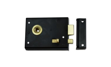 Reversible Rim Latch & Snib
