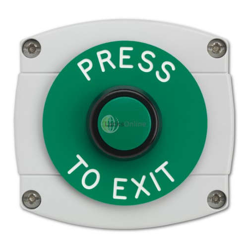 Main photo of Surface Mounted Press To Exit Button