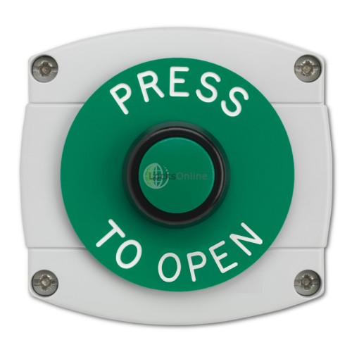 Main photo of Surface Mounted Press To Open Button