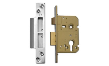 ASEC Euro Profile Sashlock Case with Reversible Latch
