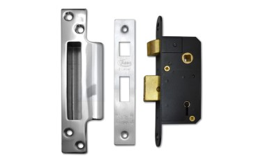 Narrow Lock for Aluminium & Glass Panel Doors