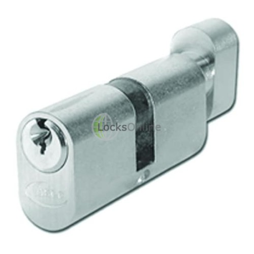 Main photo of Asec Oval Key & Turn Cylinder