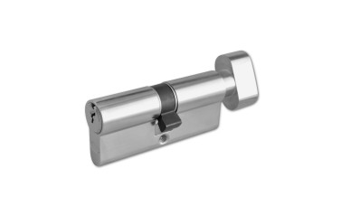 ASEC 6-Pin Euro Key & Turn Cylinder