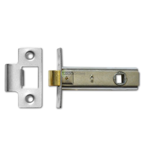Budget Tubular Latch with Adjustable Strike Plate